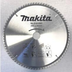 """להב למסור עגול 260 מ""""מ Makita D-63563"""