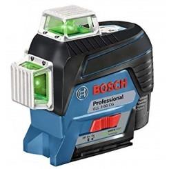 פלס לייזר צלב ירוק 3 מעגלים GLL 3-80 GC בוש
