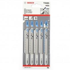 סט של 5 להבי מסור אנכי בוש לחיתוך מתכת T318A - ש. ברדוגו