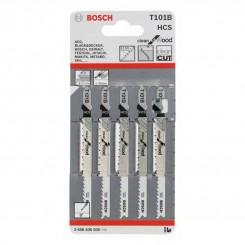 סט של 5 להבי מסור אנכי בוש לחיתוך עץ T101B 2608630030 ש. ברדוגו
