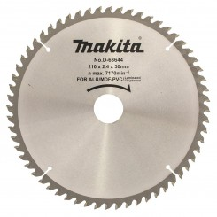 """להב למסור עגול קוטר 210 מ""""מ Makita D-63644"""