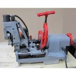 מכונת הברגות +מכשיר חריצה גרוב לספרינקלרים להשכרה