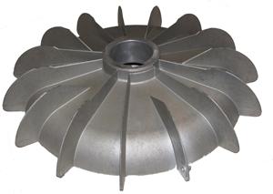 כנף אלומיניום למנועי חשמל